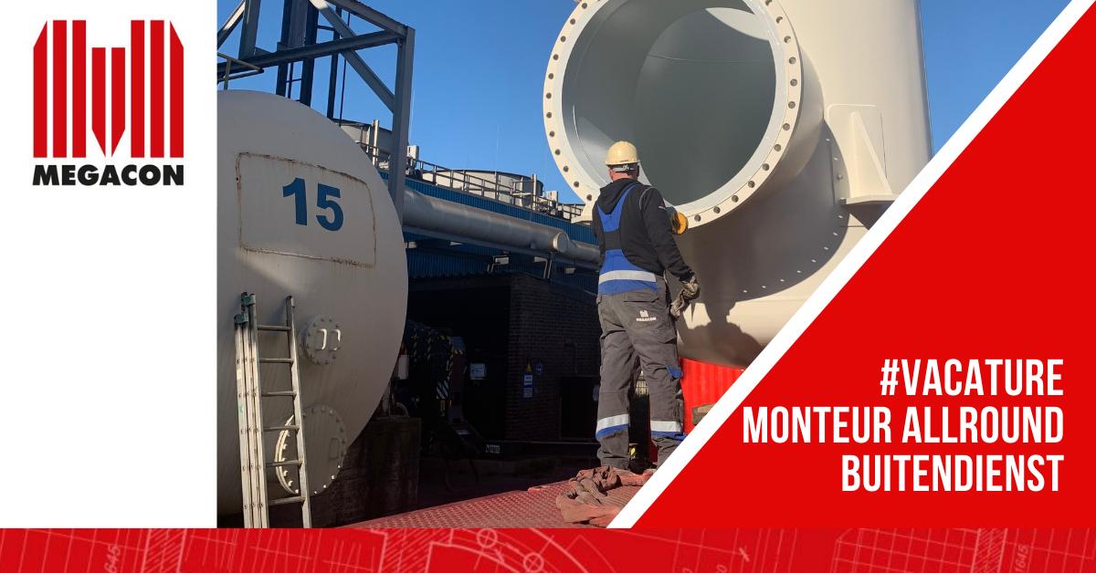 Vacature Monteur Allround Buitendienst bij Megacon Apparatenbouw in Velsen Noord